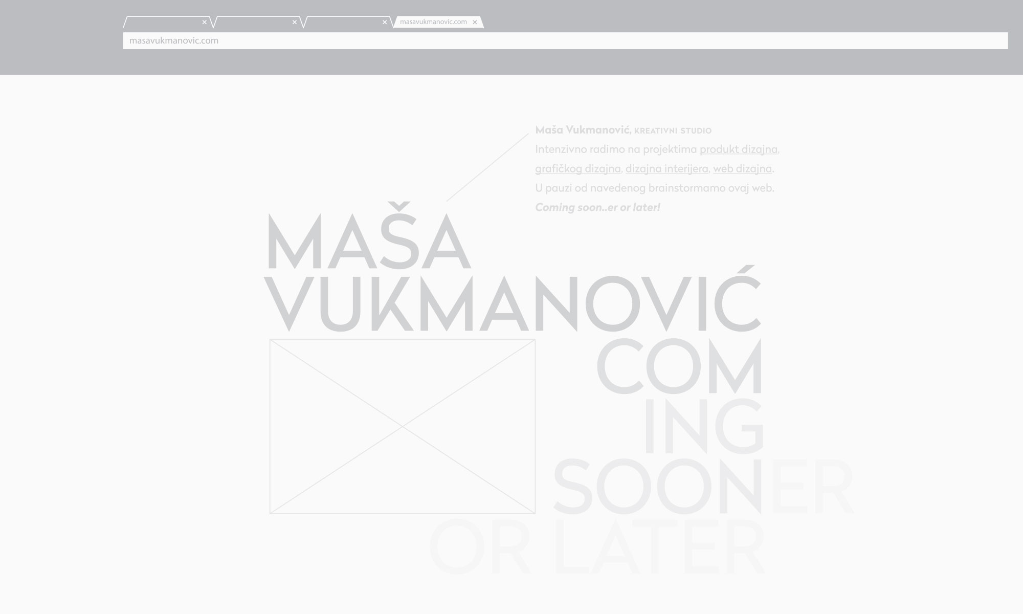 masavukmanovic.com - coming soon..er or later